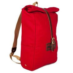 Roll Top Rucksack - Rot von Archival Clothing  694c5a80cb