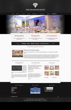 Web Design & Development for The Diamond Suite