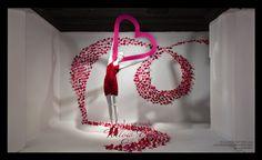 Macys Valentine's Day Window display