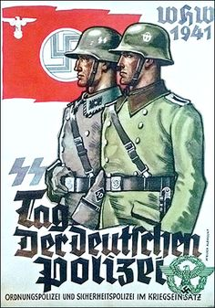Obama's Insider Threat Program Resembles Nazi Gestapo SS propaganda poster of the Day of the German police (1941). Wikimedia Commons