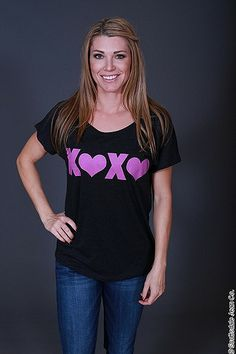 Firedaughter XOXO Tee $32.00 #sjc #scottsdalejeanco # spring fashion #firedaughter #firedaughterclothing #xoxo