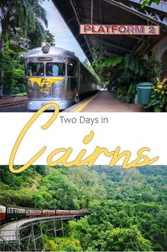 Two Days in Cairns includes exploring the lush rainforest surrounding the city, or walking the waterfront to find restaurants and bars. Brisbane, Melbourne, Sydney, New Zealand Itinerary, New Zealand Travel, Cairns Australia, Visit Australia, Great Barrier Reef, Travel Advice