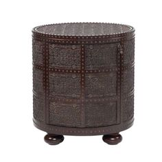 $499 Zanzibar End Table from #ZGallerie  - would loiok great in the living room... even better in a bright color