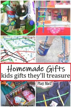 homemade kids gifts #homemadegifts #DIYgifts #giftideas #kidsgifts #Christmasgiftsideas #Christmasgfits #kidsbirthdaygifts Homemade Kids Gifts, Homemade Ornaments, Diy Gifts For Kids, Homemade Crafts, Diy For Kids, Crafts For Kids, Fun Gifts, Handmade Christmas, Christmas Crafts