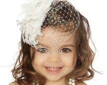 Venda de la vendimia, venda, venda de bautismo, Flowergirl diadema de bautizo