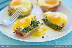 Baked Green Eggs & Ham