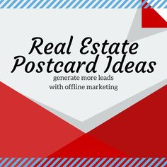 Powerfully Simple Realtor Postcards And Templates That Will Generate More Business #realestatepostcards