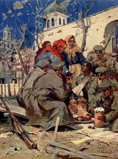Russian occupation of Eastern Galicia, Imperial Army, Imperial Russia, Russian Painting, Austro Hungarian, Great Paintings, Various Artists, Eastern Europe, First World, World War