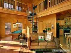 """""""Dreams and Streams"""" - 1 Bedroom Gatlinburg cabin getaway in the Smoky Mountains"""