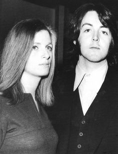 Linda Eastman-McCartney and Paul McCartney (1969)