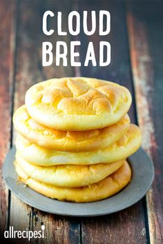 "Easy Cloud Bread | ""It's a great substitute for 'regular' bread and is low in carbs. """