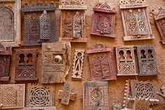 small carved windows in shebam the world heritage,  Hadramawt, Yemen by anthony pappone photographer, via Flickr