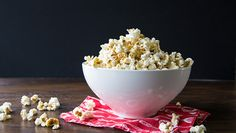How To Properly Butter Popcorn ~ Making fluffy buttered popcorn is an art (but an easy one!). Here's how to get that deliciously buttered popcorn without sogging it up. - Tablespoon
