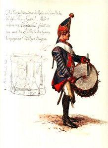 Prussian Infantry Regiment von Bornstedt No 20 Battle of Hohenfriedberg June 1745 Military Art, Military History, War Drums, Frederick The Great, Seven Years' War, German Uniforms, American War, Napoleonic Wars, German Army