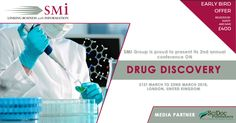 SMi Group is proud to present its 2nd annual conference on Drug Discovery, taking place on 21st-22nd of March 2018 in Central London.  Media partner - SciDoc Publishers.  https://www.smi-online.co.uk/pharmaceuticals/uk/drug-discovery
