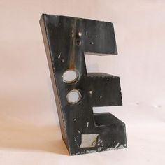 Three-Dimensional Letter E, $149, now featured on Fab.