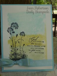 In God We Trust Card Kit Stampin/' Up
