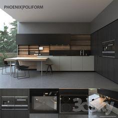 Kitchen Poliform Varenna Phoenix