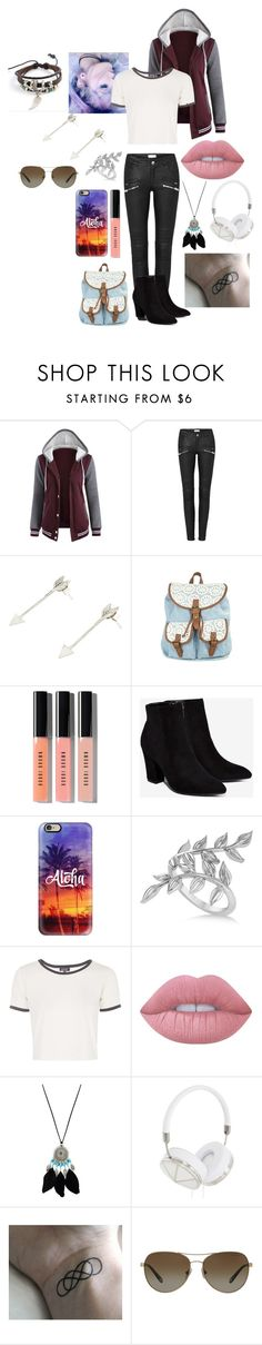 """""""wild"""" by fangirl-20037 ❤ liked on Polyvore featuring Bobbi Brown Cosmetics, Billini, Casetify, Allurez, Topshop, Lime Crime, Forever 21, Frends, Tiffany & Co. and Trend Cool"""