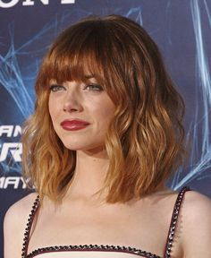loving Emma Stone's new hair