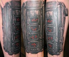the alien/predator sleeve