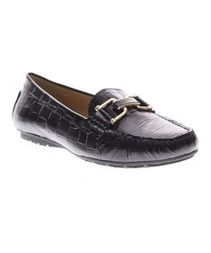Look what I found on #zulily! Black Syrinx Leather Loafer #zulilyfinds