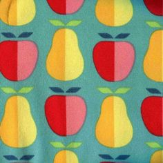 Lillestoff organic knit Apples & Pears Windfall
