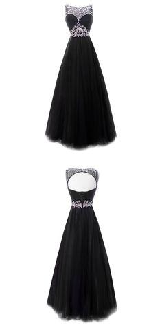 Gorgeous Classy Prom Dresses,Blue Prom Dresses,Cap Sleeve Prom Dresses,Rhinestones Prom Dresses,Long Prom Dresses