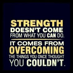 #onlinecoaching #coachingOnlineMarketing #onlinePersonalDevelopment Like this quote and want to take action? Click on this pin and sign up for our #PiYo Challenge to discover our #strength!