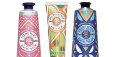 hand cream with African inspired artwork on lotion labels | L'Occitane - The Dieline