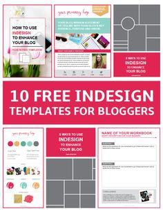 Free InDesign Templates for Bloggers | Blog Images & Content Upgrades michigan programmatic search