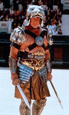 This is Tigris (Sven-Ole Thorsen) in Gladiator.This is Tigris (Sven-Ole Thorsen) in Gladiator. Sven Ole Thorsen, Gladiator Movie, Roman Gladiators, Roman Legion, Armadura Medieval, Art Disney, Movie Shots, Epic Movie, Roman Fashion