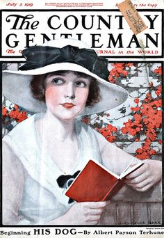Vintage Magazine Cover - July 5, 1919