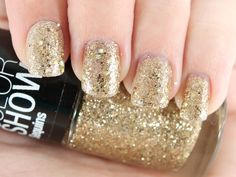 Maybelline Color Show Sequins Nail Lacquer in Gold's Night Out