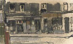 JOAN KATHLEEN HARDING EARDLEY, R.S.A. (1921-1963) - GLASGOW SHOPS