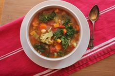 10-Spice Vegetable Soup Grain free, Meat free, Dairy free!