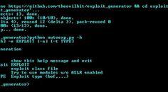 exploit_generator – Automated Exploit generation with WinDBG.