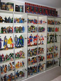 142 Best Action Figure Display Images Action Figures Retro Toys