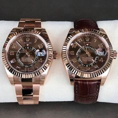 Some for a sweet weekend SKY-DWELLER full gold leather strap? ... | http://ift.tt/2cBdL3X shares Rolex Watches collection #Get #men #rolex #watches #fashion