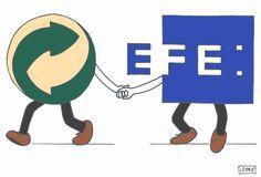 Humor Ambiental de Ecovidrio y EFEverde en ScribbleLive