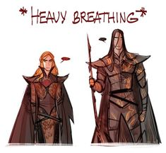 Sauron and Melkor by Phobs