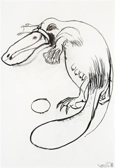 View Platypus, Tooronga Zoo by Brett Whiteley on artnet. Browse upcoming and past auction lots by Brett Whiteley. Australian Painting, Australian Artists, Line Drawing, Drawing Art, Avant Garde Artists, Art Lessons For Kids, Australian Animals, Great Paintings, Aboriginal Art