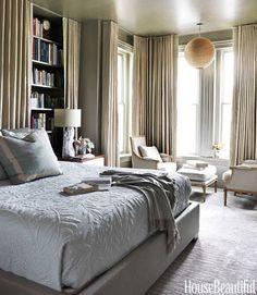 Camera da letto in grigio