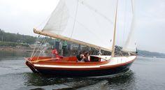 pisces 21 under sail