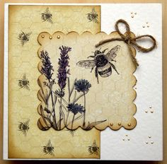 Using Craftwork cards Potting shed II papers, topper and Candi and liquid pearls.