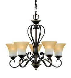 Quoizel Lighting Duchess 5 Light Chandelier in Palladian Bronze DH5005PN #quoizel