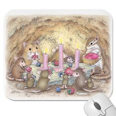 """""""Mouse Pad - 9 x 8"""", Stock #: PAD-2006-11, from House-Mouse Designs®. This item was recently purchased off from our web site. Click on the image to see more information."""