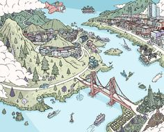 Bay Area Shopping by Barry Bruner