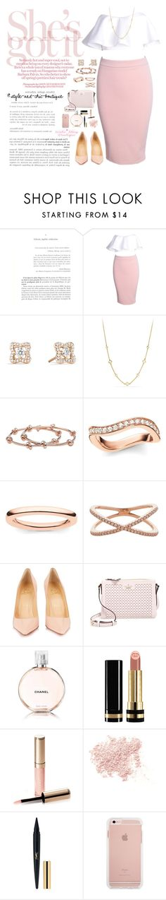 """""""Katie May Boutique ~ 39"""" by style-and-chic-boutique ❤ liked on Polyvore featuring David Yurman, CC SKYE, Thomas Sabo, 19Fifth, Christian Louboutin, Kate Spade, Chanel, Gucci, By Terry and Bare Escentuals"""