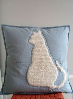 Cat Cushion - Could use any Silhouette shape.